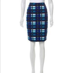 Max Mara weekend 2 sided printed skirt